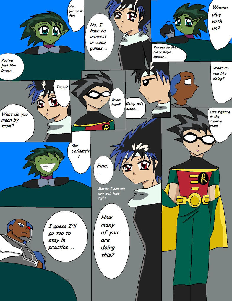 TeenTitans Doujinshi preview 9 by *lady-warrior on deviantART