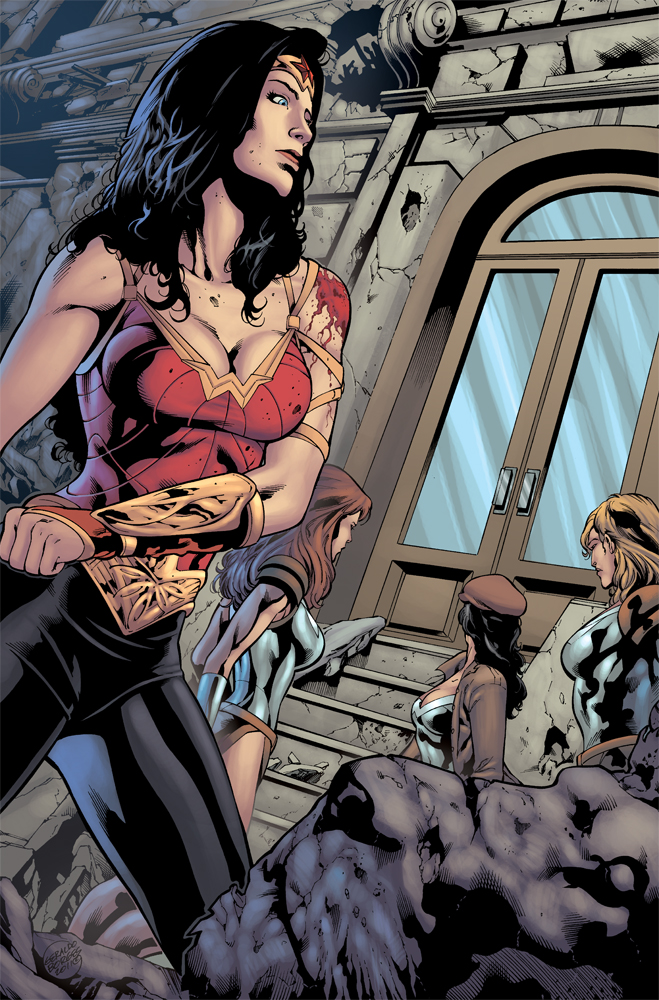 Wonder Woman 608 p1 by matlopes