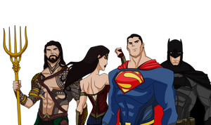 dawn of justice (flashpoint style)