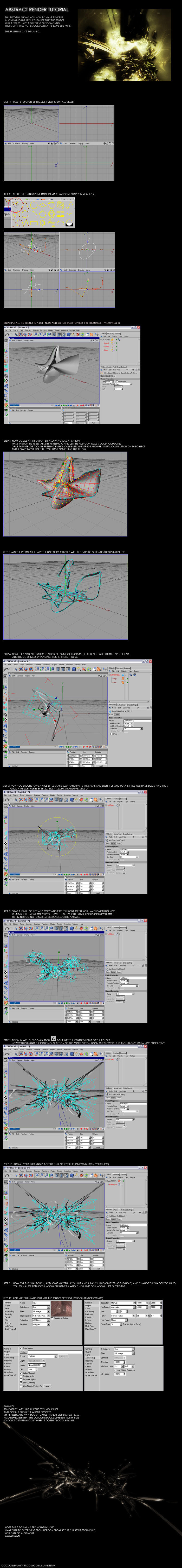 Cinema 4d modelling tutorial by Godxx2