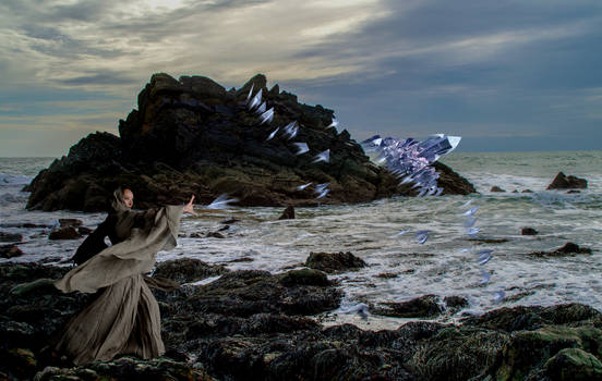 Sorceress Hurling Ice Shards