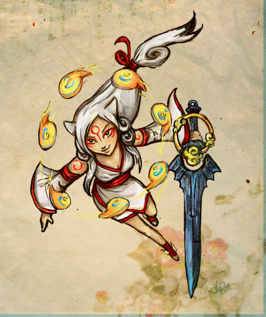 Human Battle Amaterasu by Jassikorandoms on DeviantArt