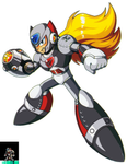 Unfinished Prototype Zero from MegaMan Unlimited
