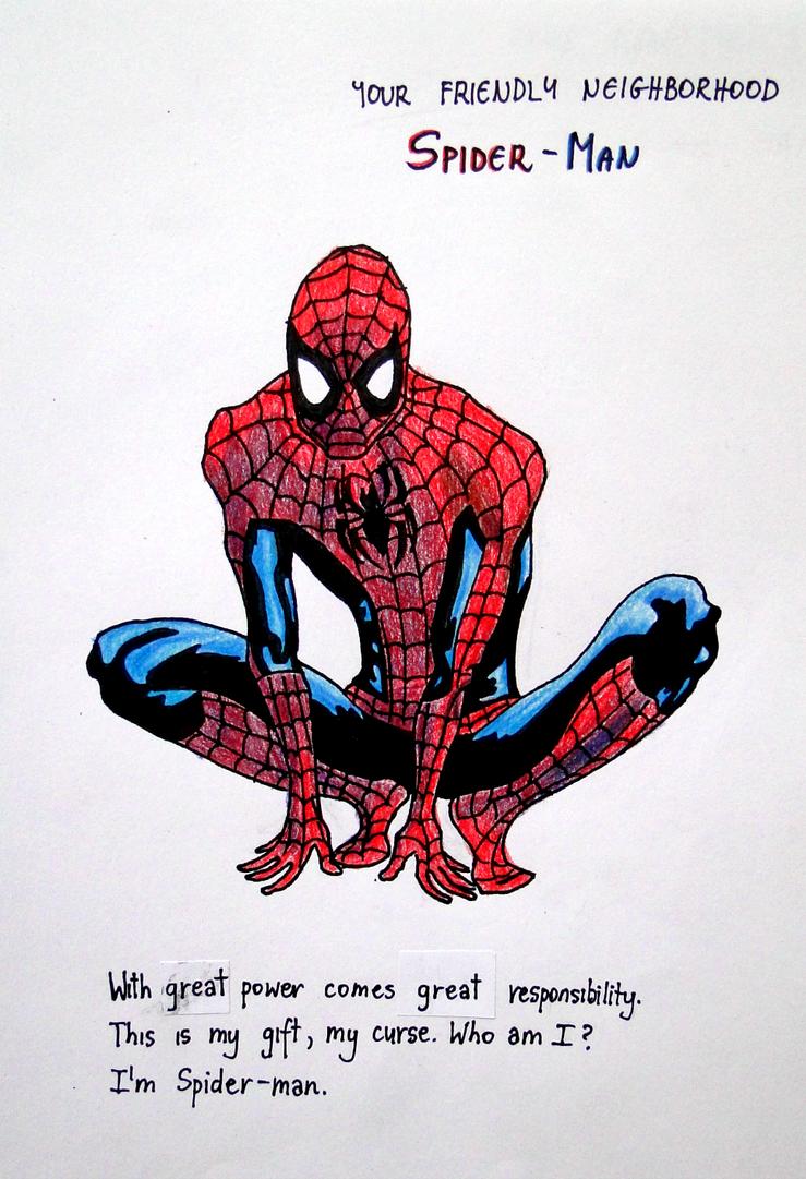 M Spiderman Who am I? I'm Spiderma...