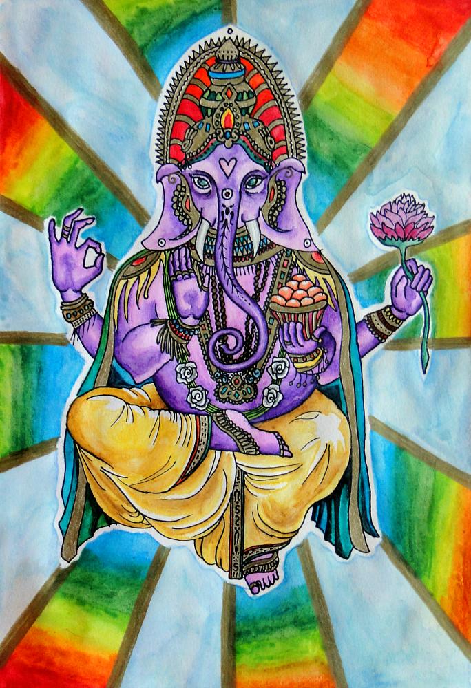 Ganesha by YummyBiscuit