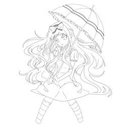 Isabelle line art