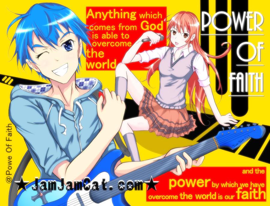 Power of faith by JamJamCat