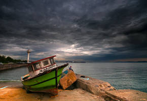 before the strom by 1poz