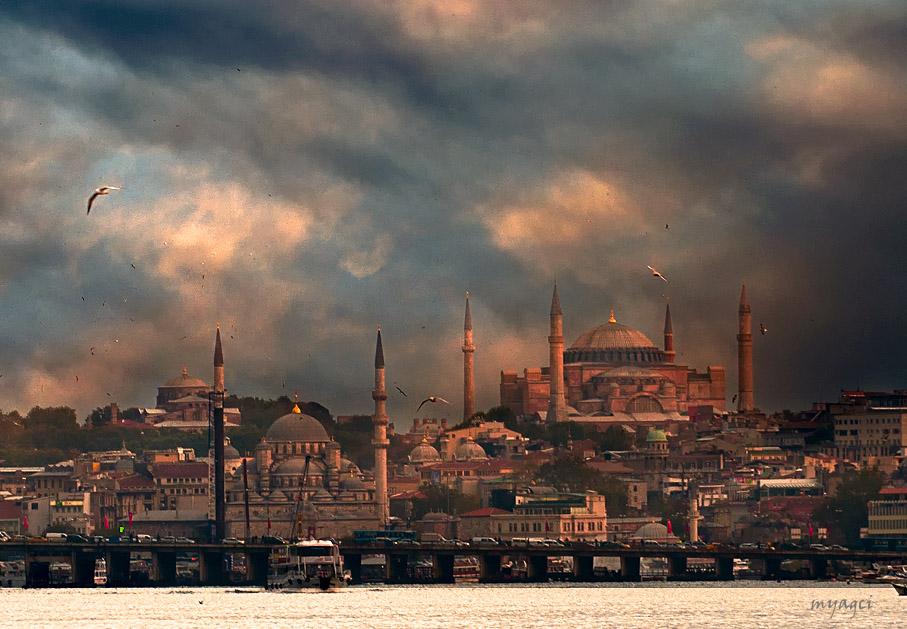 hagia sophia church istanbul by 1poz on DeviantArt