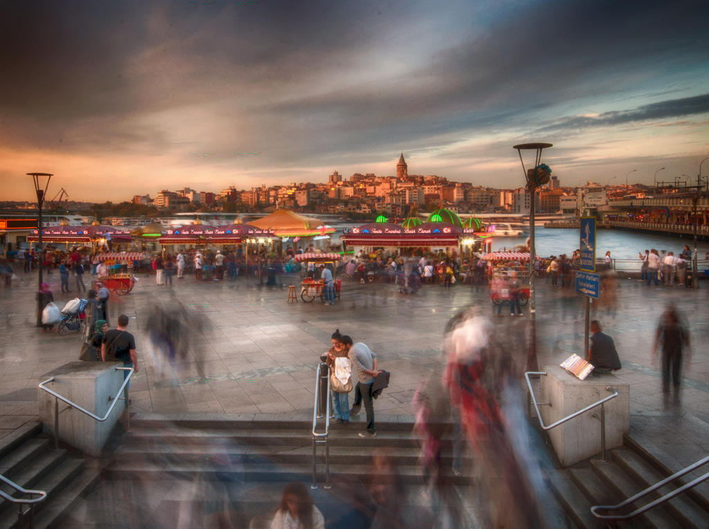 istanbul evening by globalunion