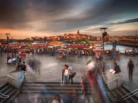 istanbul evening