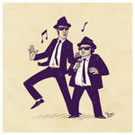 Sketch 05 - Blues Brothers