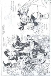 Comicbook Art by Carlo Garde by CarloGarde
