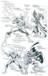 Comicbook Art4 by Carlo Garde by CarloGarde