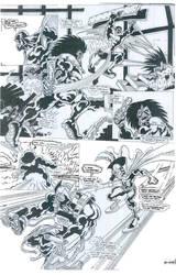 Comicbook Art 8 by Carlo Garde by CarloGarde