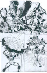 Comicbook Art 9 by Carlo Garde by CarloGarde