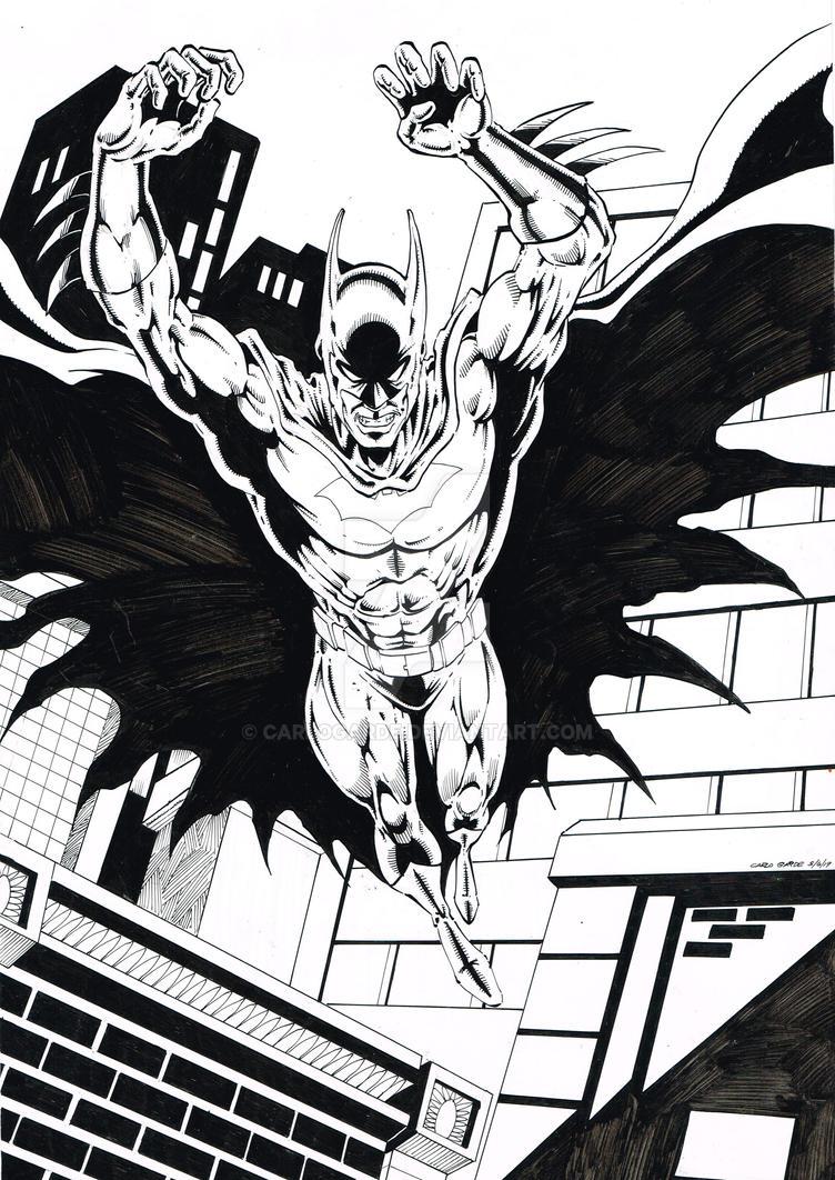 Batman  fever by CarloGarde