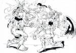 Avengers vs Squadron