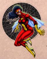 Spider Woman -jpg by CarloGarde