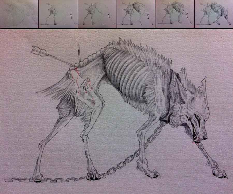 Demon Wolf by Whisper66