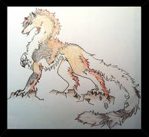 Wolf Dragon by Whisper66