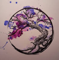 Water Colour Tree by Whisper66