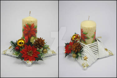 Candle stick (star-shaped) 3