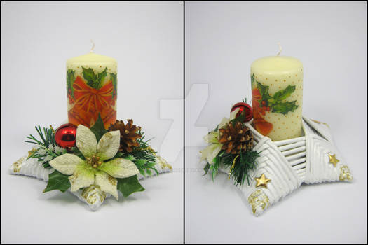 Candle stick (star-shaped) 4