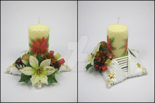 Candle stick (star-shaped) 5