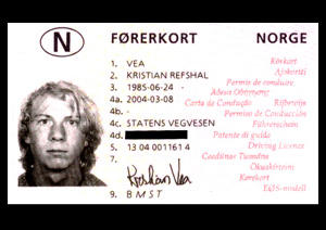 My drivers license by echo