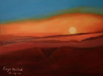 Sunset on Mount Lebanon