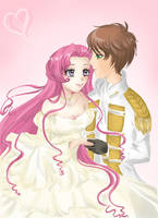 Euphemia and Suzaku by MelfinaCosplay