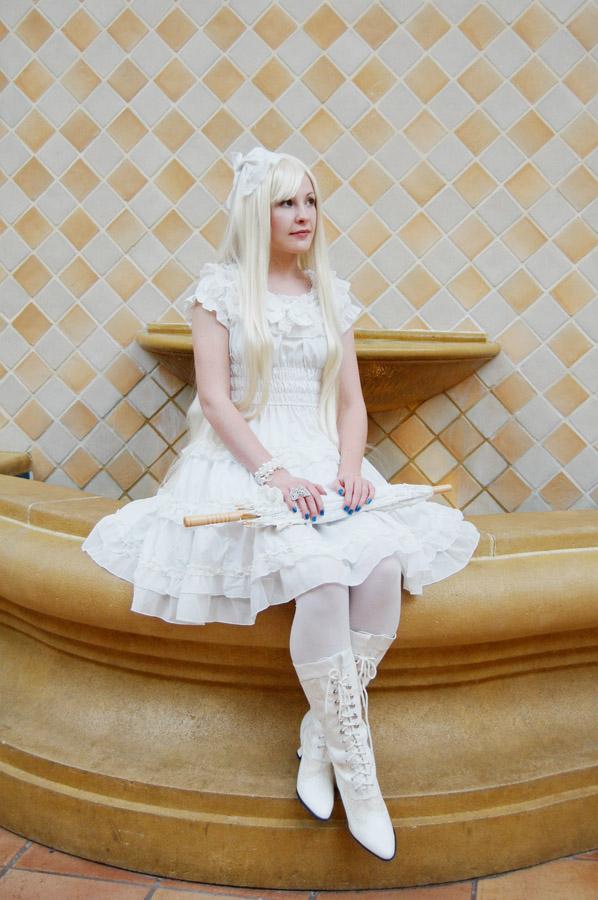 Shiro Lolita by MelfinaCosplay