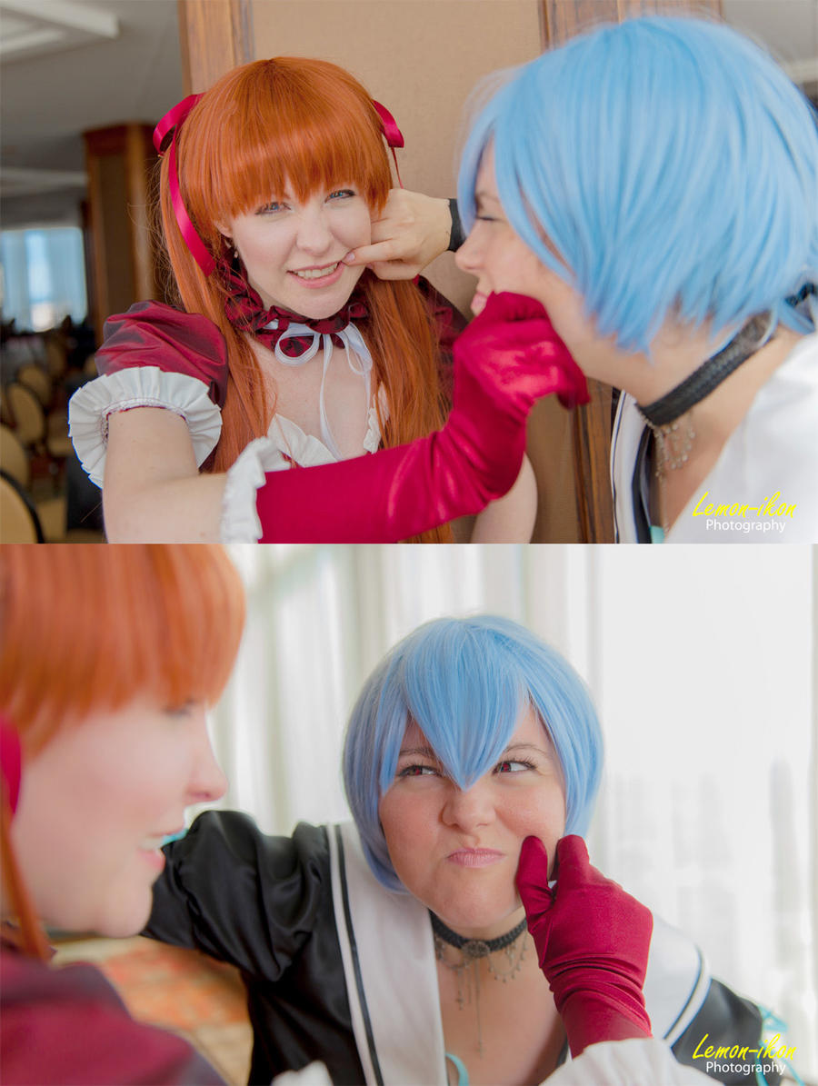 Cooperation by MelfinaCosplay