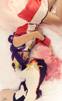 Utena and Anthy by MelfinaCosplay