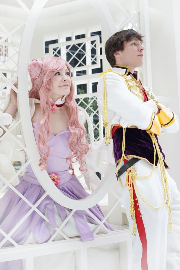 Euphemia and Suzaku by MelfinaCosplay