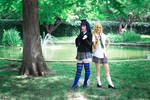 Panty and Stocking School Uniforms