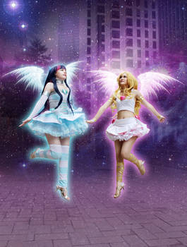 Fly Away Now ~ Panty and Stocking Cosplay