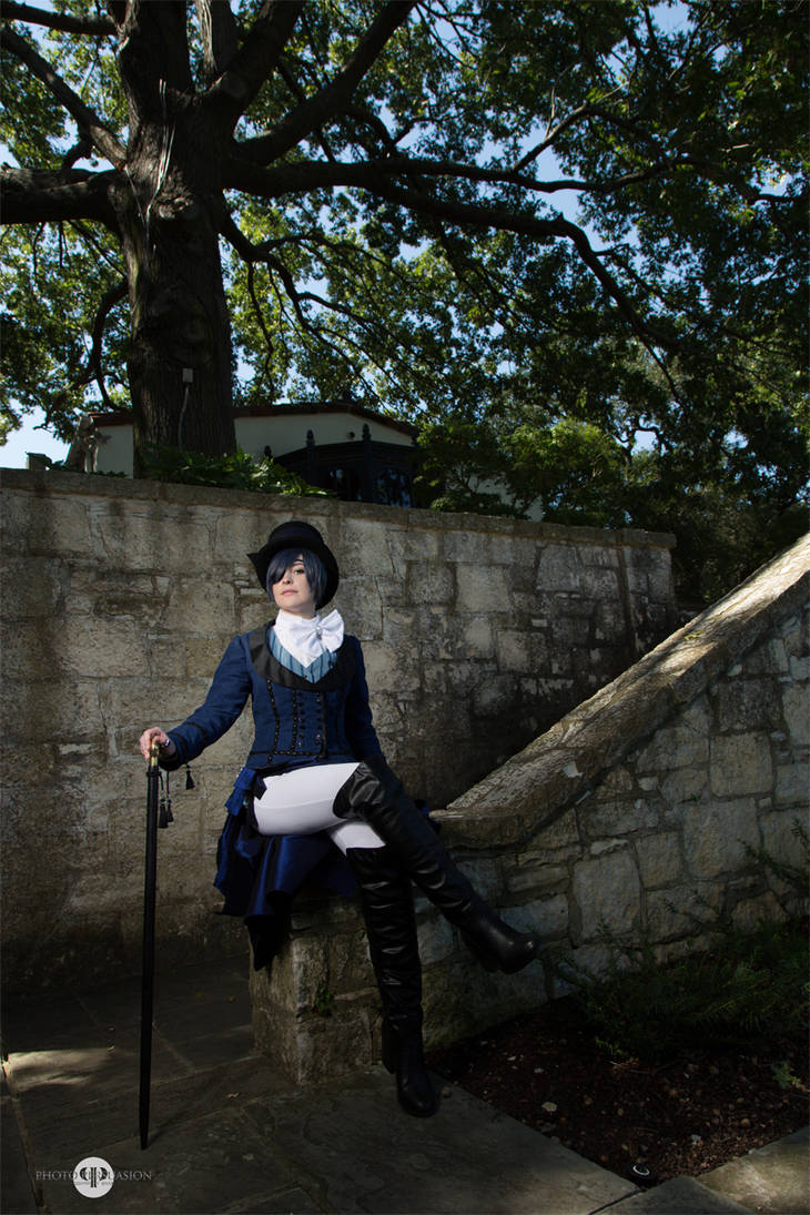 Blue Artwork Ciel Cosplay by MelfinaCosplay