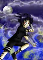 Sasuke's Blue Flame by MelfinaCosplay