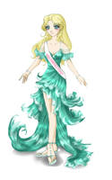 Miss Emerald Coast by MelfinaCosplay