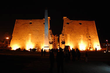 Luxor Temple 8 by mynando