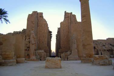 Karnak Temple 1 by mynando