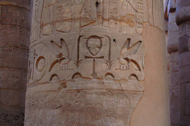 Karnak Temple 2 Hieroglyphics by mynando