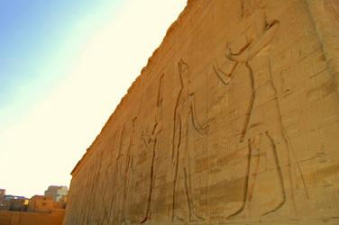 Egyptian Hieroglyphics 3 by mynando