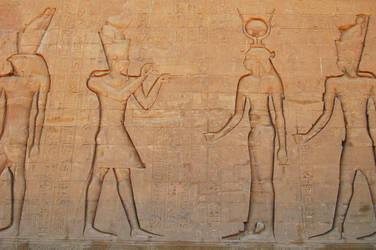 Egyptian Hieroglyphics 4 by mynando
