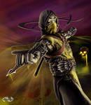 Mortal Kombat Scorpion Concept