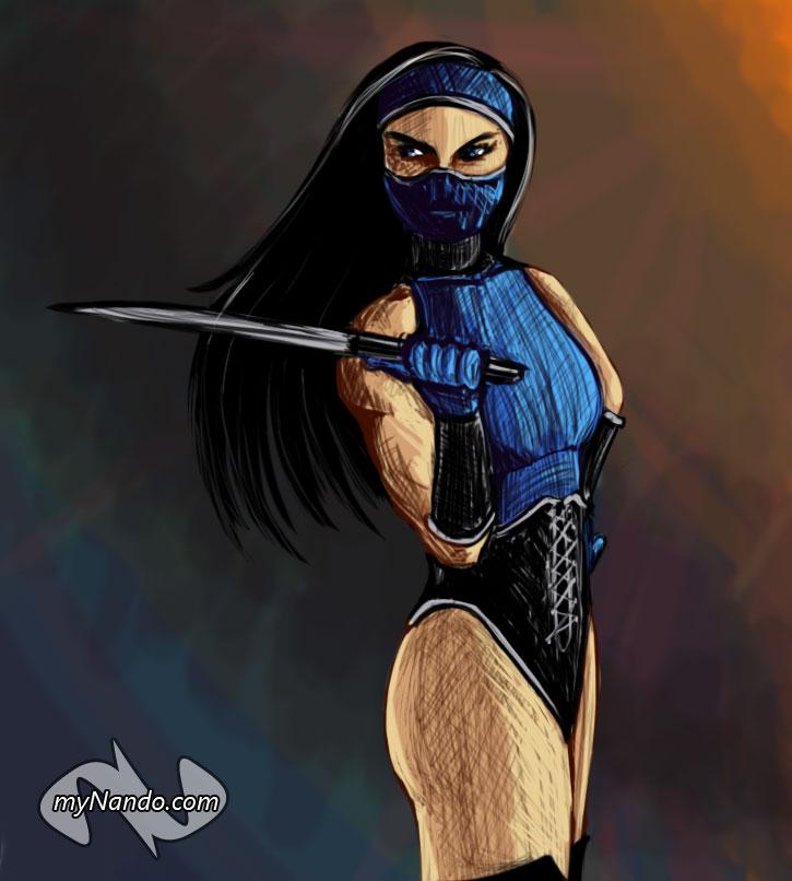 Princess Kitana Mortal Kombat Porn