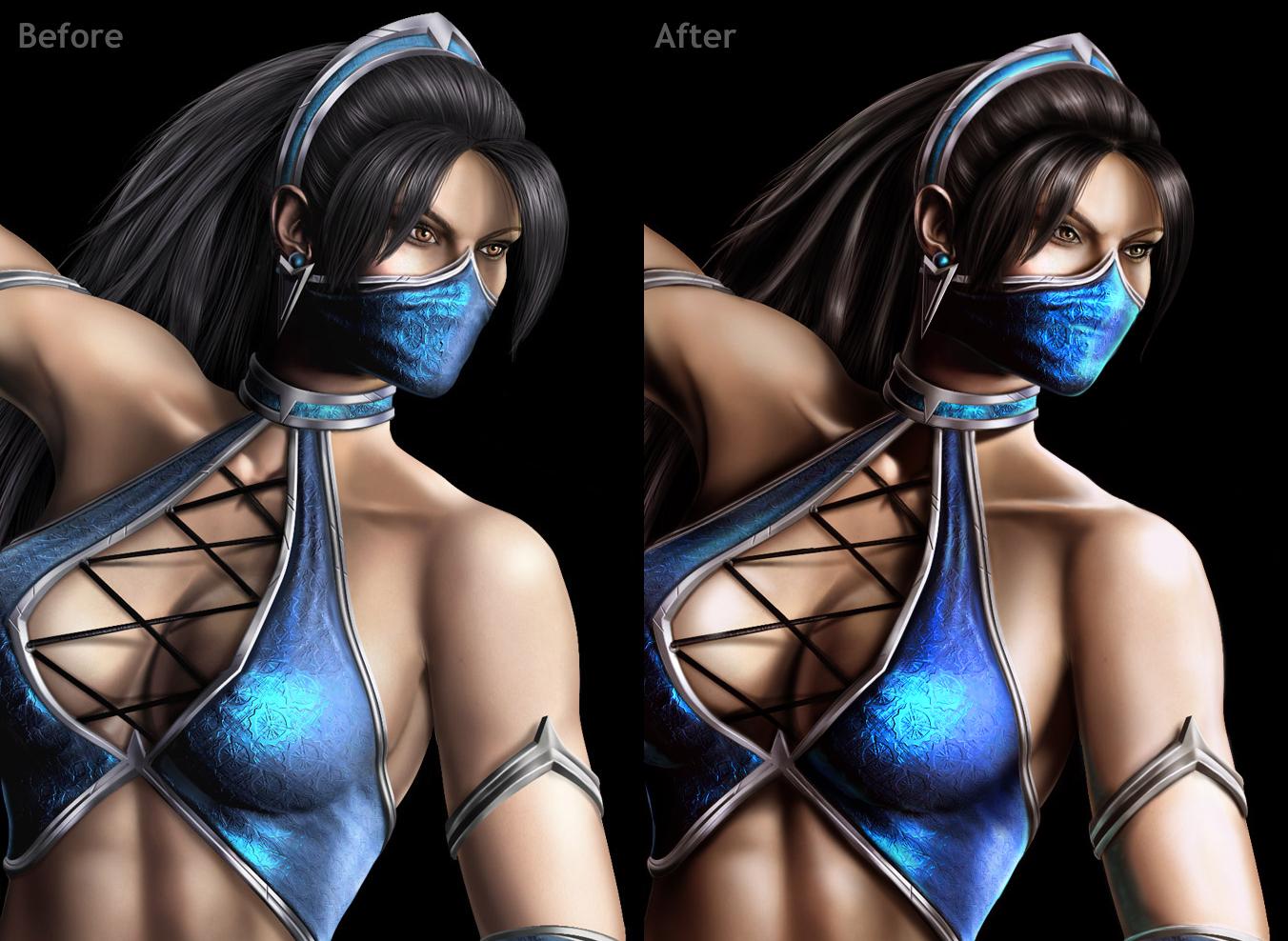 Kitana and Mileena Mortal Kombat Cosplay is Amazingly Sexy