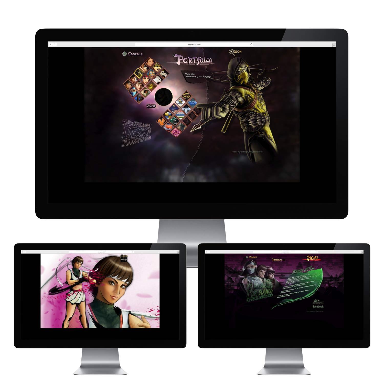 Flash Website